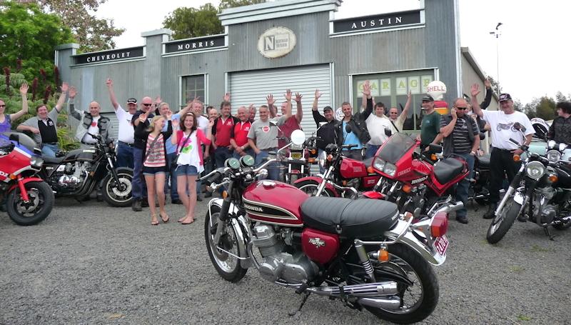 Vintage Japanese Motorcycle Club